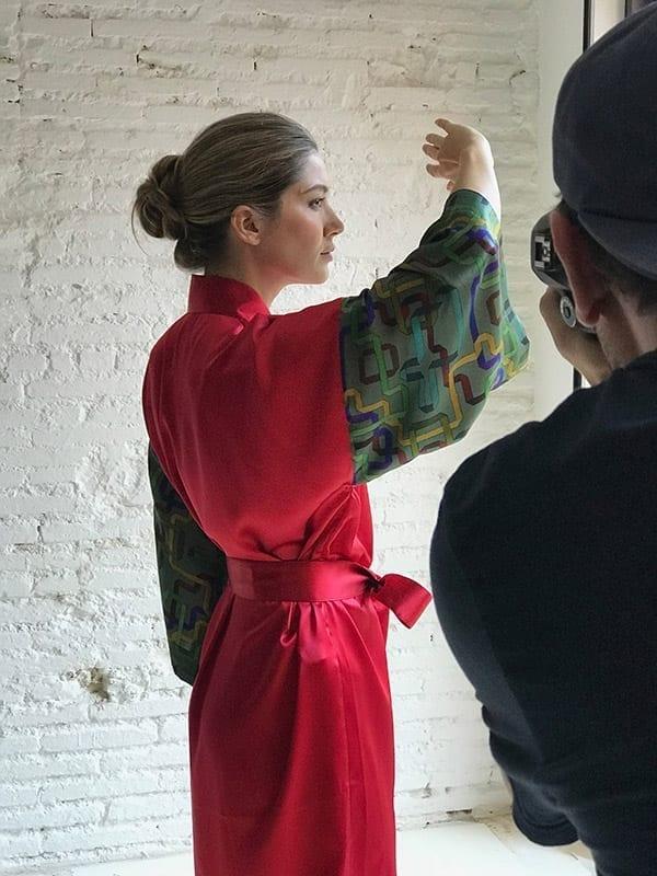 Vida y milagros Diseño textil Making off Vida y Milagros